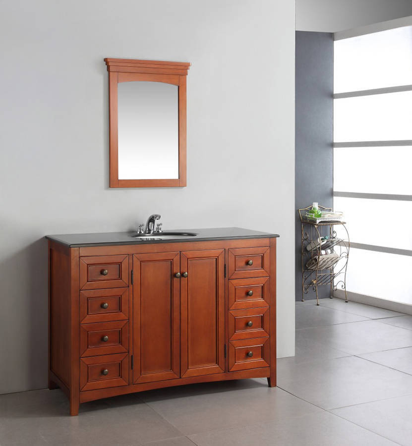48 Inch Bathroom Vanity Combo