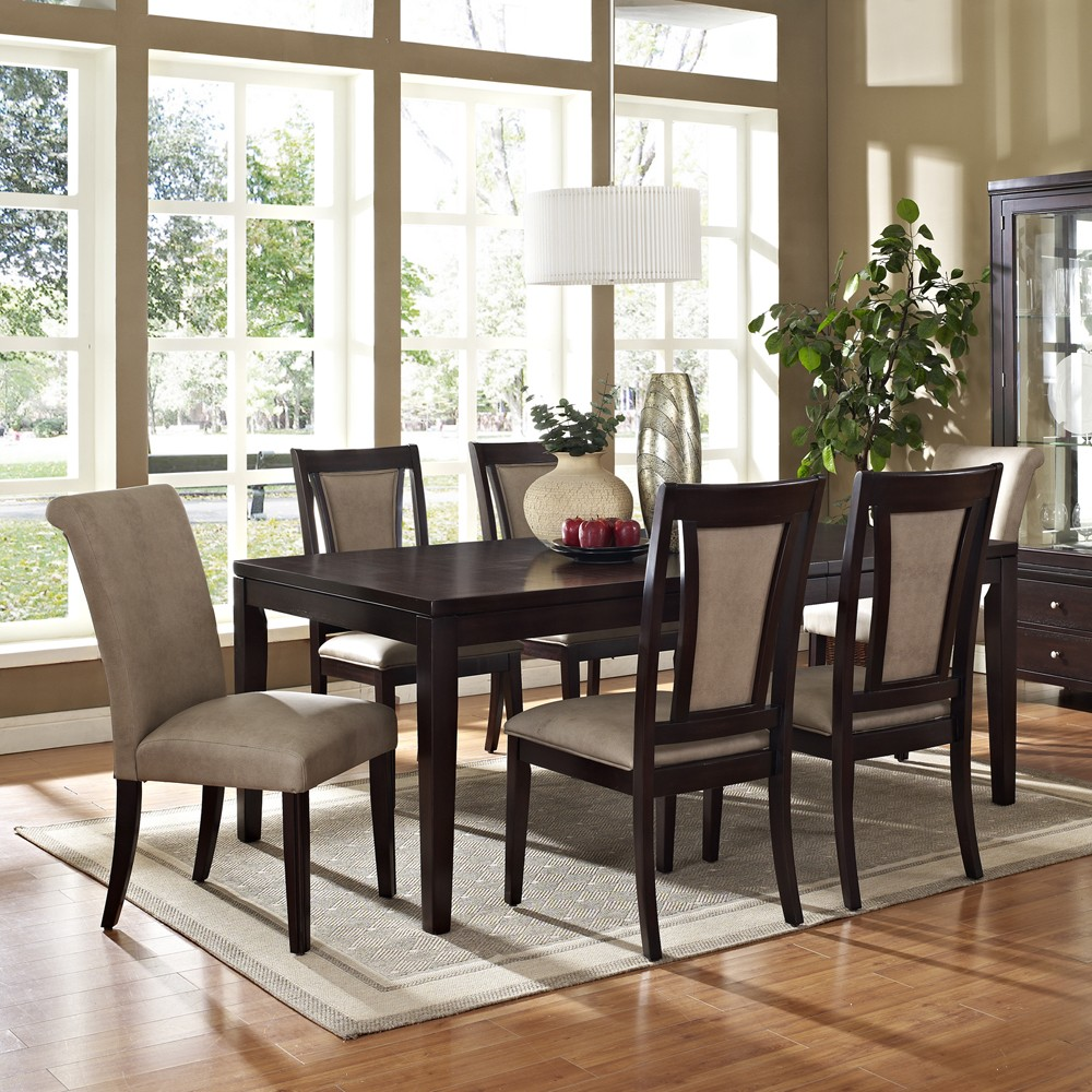 tips to get the best dining room sets actual home. Black Bedroom Furniture Sets. Home Design Ideas