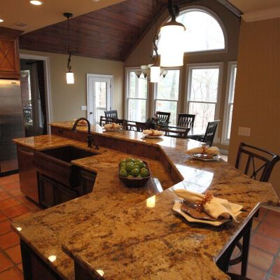 How To Create A Luxurious Kitchen Island