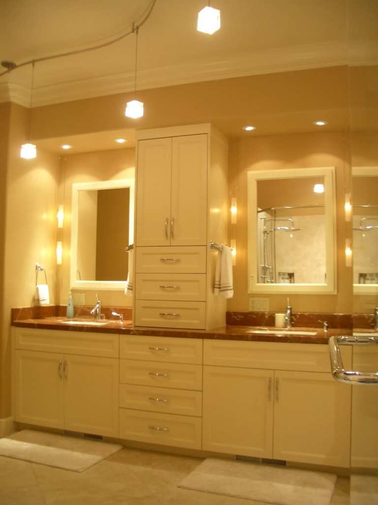 The best selection of bathroom lighting actual home for Bathroom lighting design