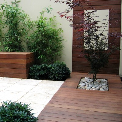 Courtyard Gardens design 1