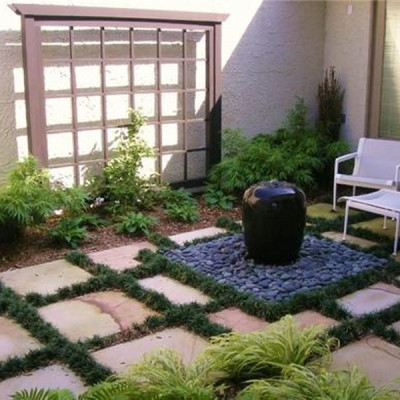Courtyard Gardens design 5