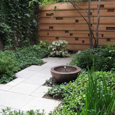 Courtyard Gardens design 8