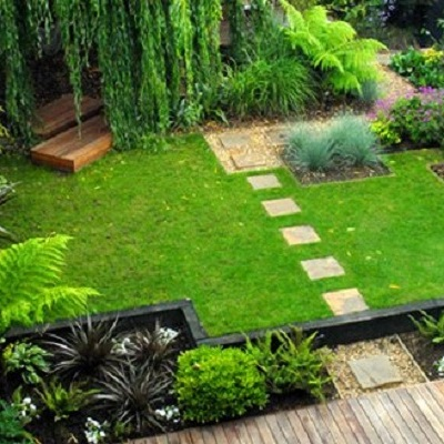 Landscaping Backyard Ideas for Small-Lawn