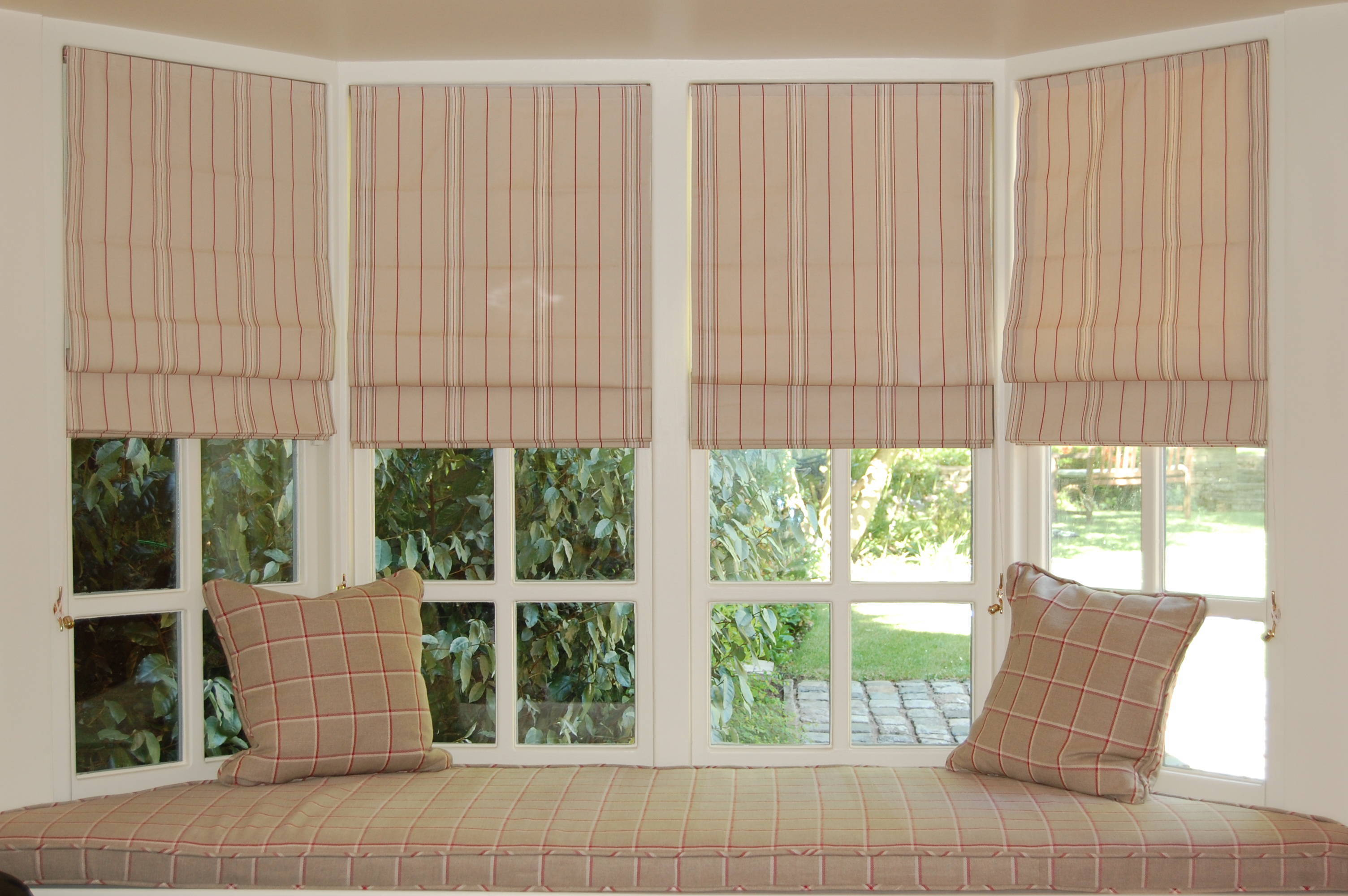 Lowe's Fabric Roman Shades