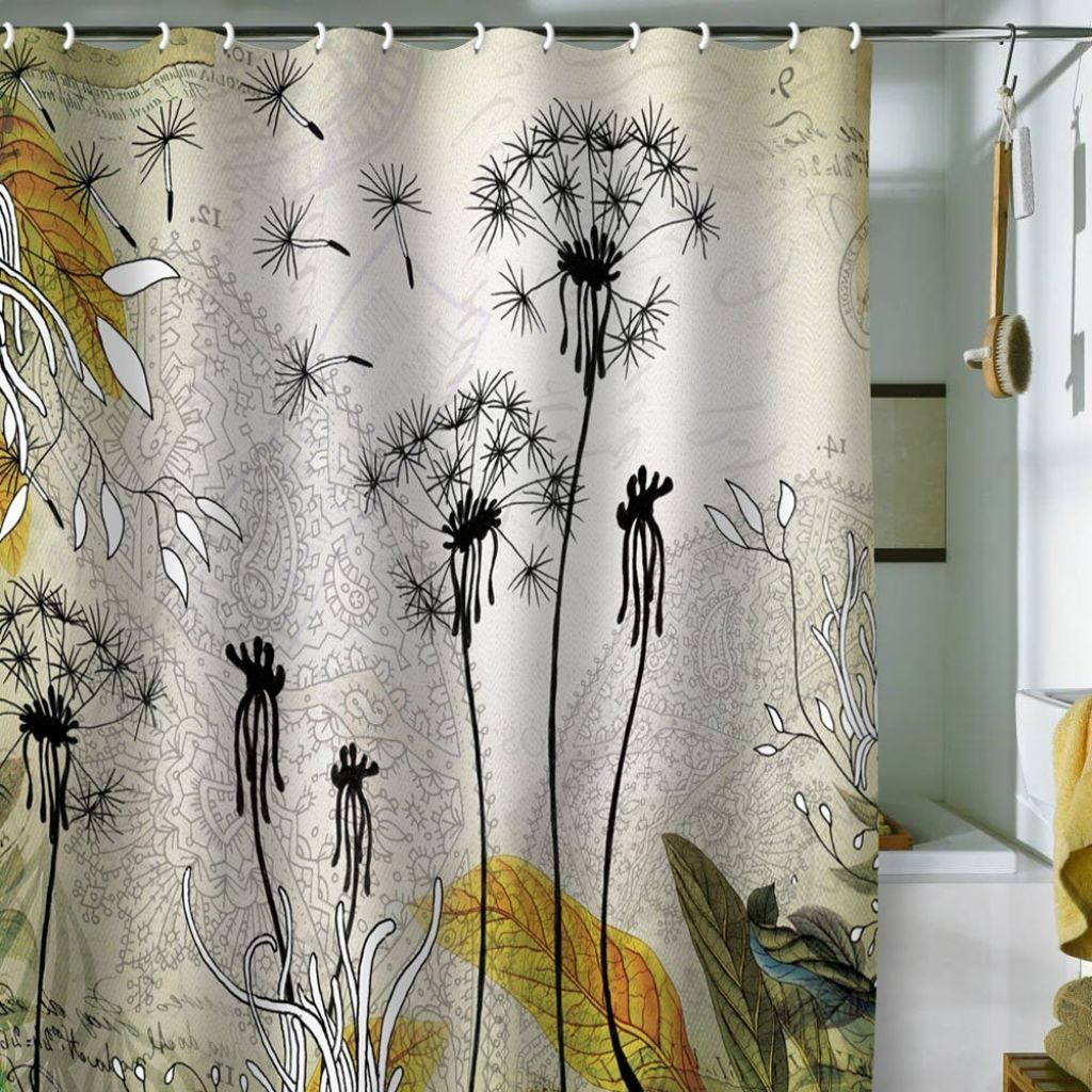 Determine the best shower curtains actual home for Weird shower curtains