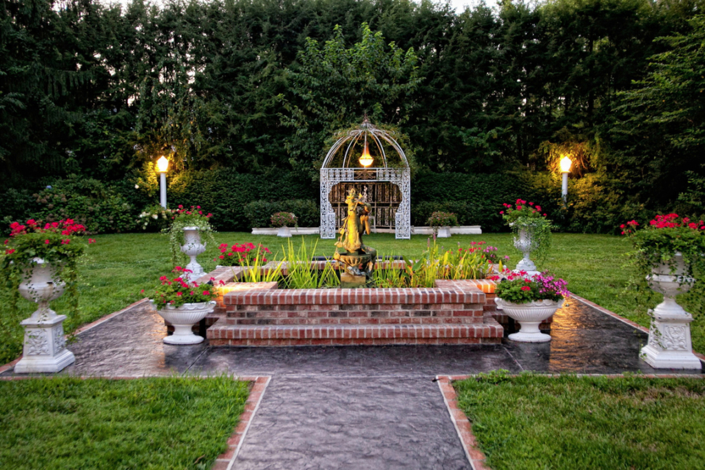 courtyard gardens design