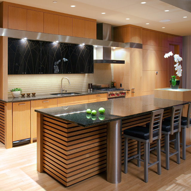 elegant asian kitchen