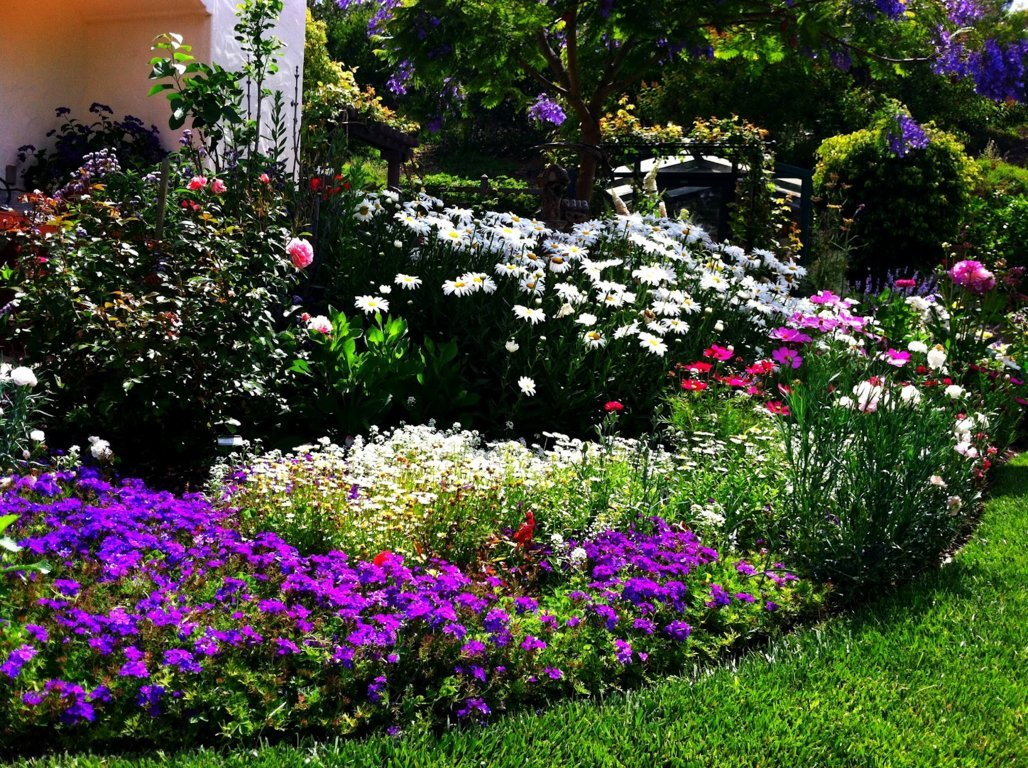 flower bed designs ideas