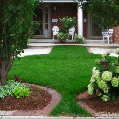 Inspirations Cheap Landscaping Ideas Actual Home