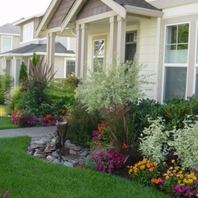 inspiring small front garden ideas