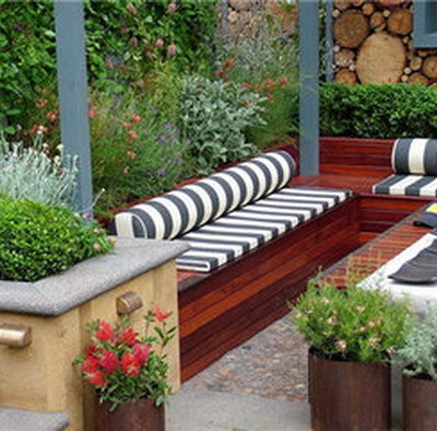 patio ideas small gardens