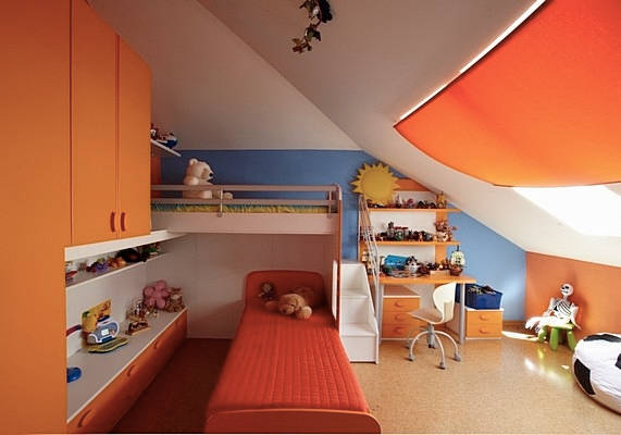 Kids Attic Bedrooms