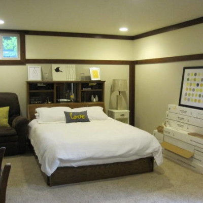 basement bedroom ideas pictures