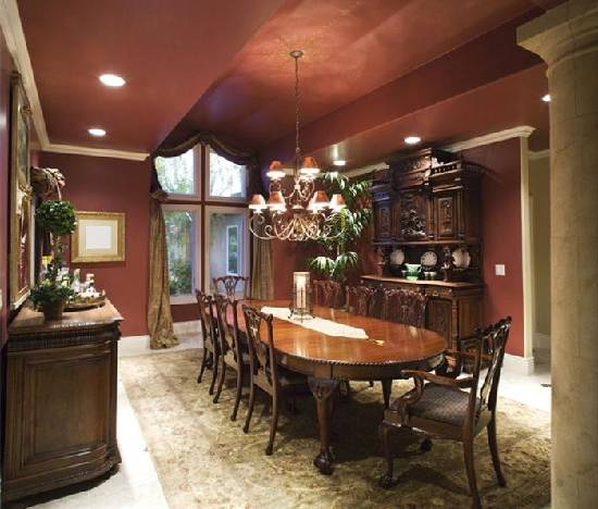 Formal dining room designs 7 actual home actual home for Elegant dining room ideas