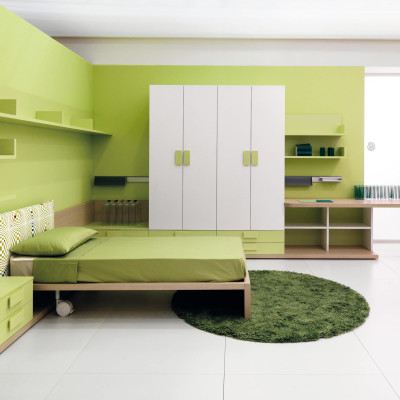 Light Green Bedroom design Ideas