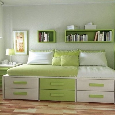 Girls Green Bedroom design Ideas