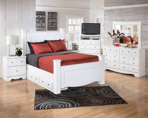 Ashley White Bedroom Furniture