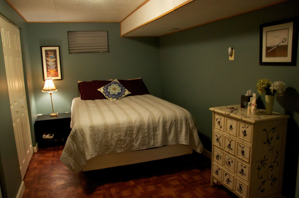 basement bedroom and designs