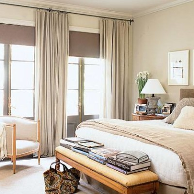elegant and Neutral bedding ideas