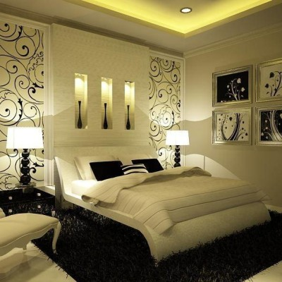 bedroom ideas couples with baby