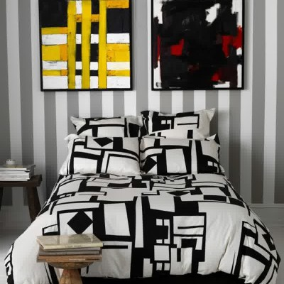 contemporary and modern bedding
