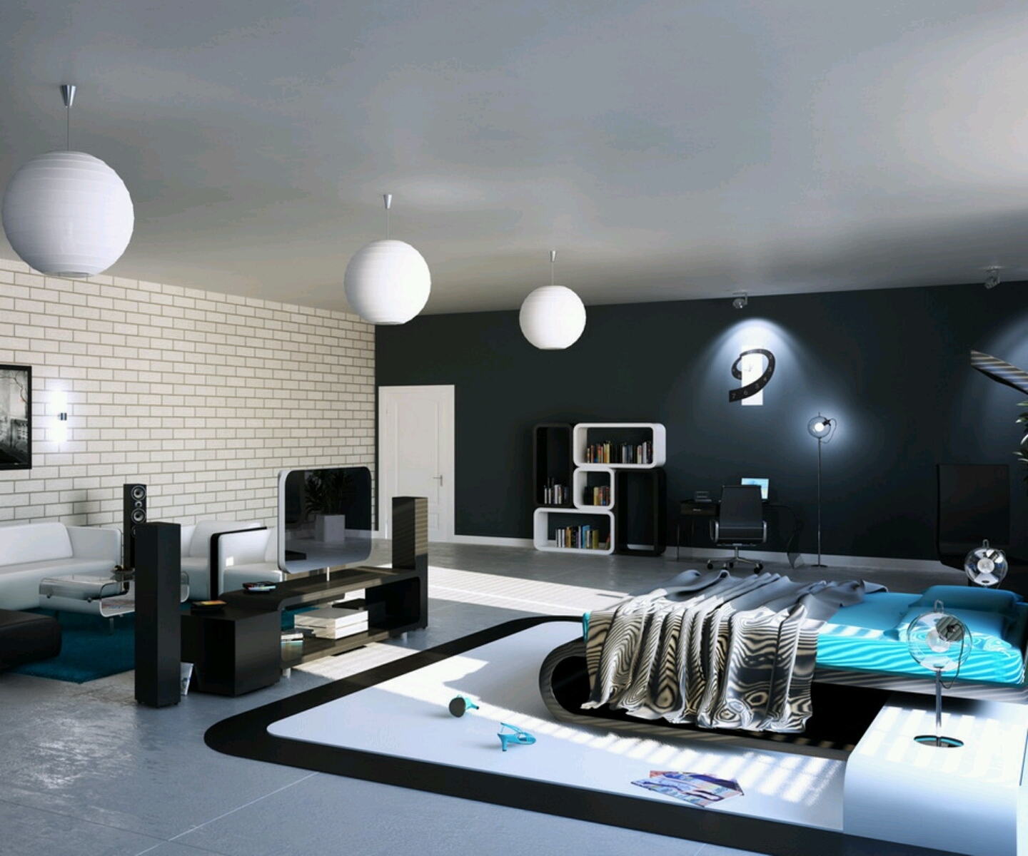 cool modern bedroom ideas