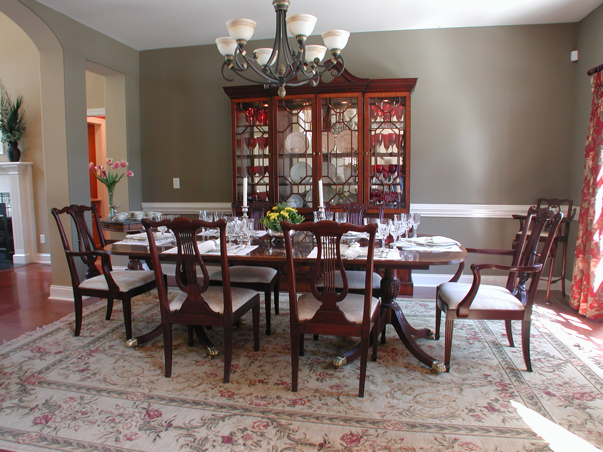 formal dining room designs and decorations