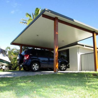 Carport ideas for the best protection of your vehicle for Modern carport designs plans