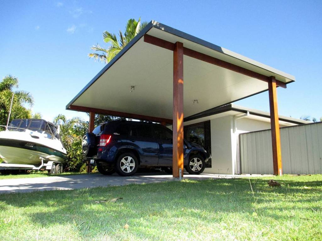 Carport ideas for the best protection of your vehicle for Attached garage kits