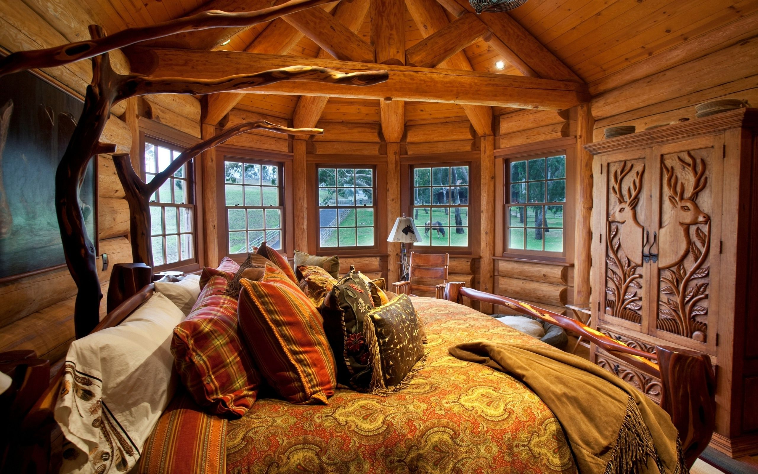 Cabin Bedroom Rustic Bedroom Ideas For Classic And Antique Impression