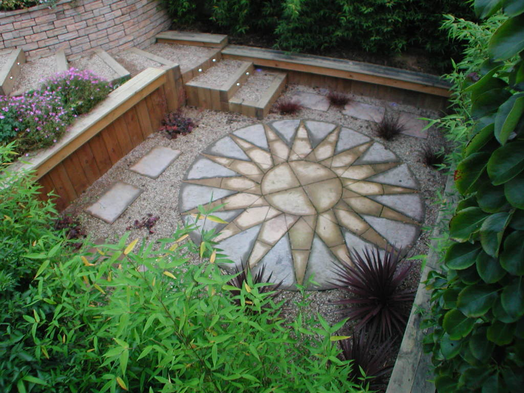 Low maintenance garden to the efficiency of your garden for Garden design images