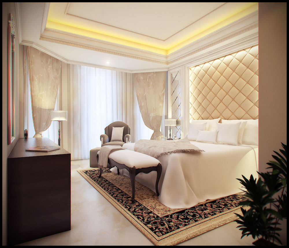 luxury bedroom style
