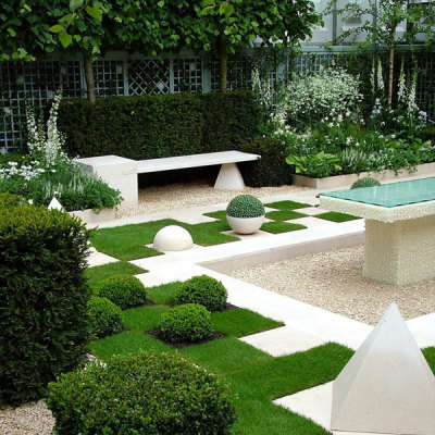 Modern Gardens Ideas For An Elegant Garden View