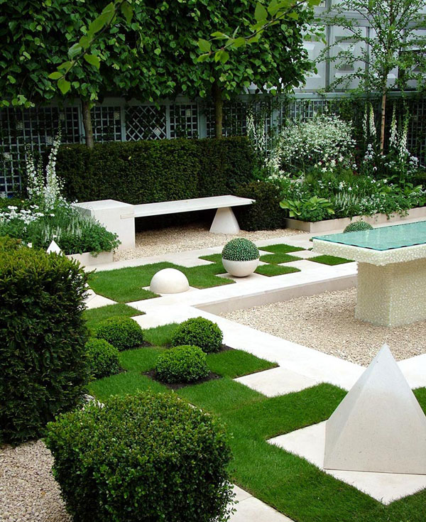 Home Garden Design Ideas: Modern Gardens Ideas For An Elegant Garden View