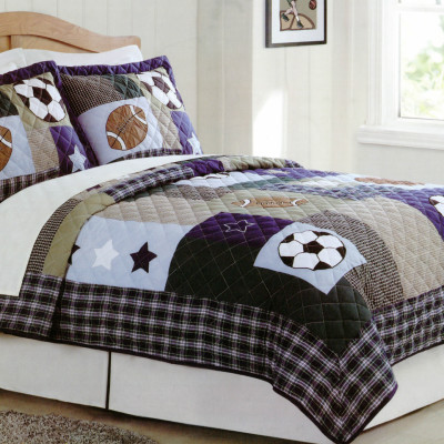 sport kids bedding ideas