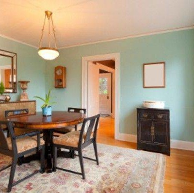 Dining room color schemes for your inspiration actual home for Dining room colour inspiration