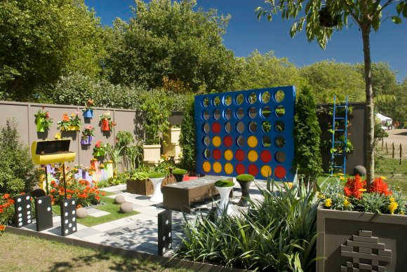 Garden ideas for kids for the endless memories actual home for Children friendly garden designs
