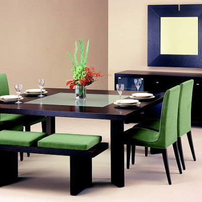 Green Dining Room Sets