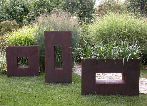 Contemporary Outdoor Pots