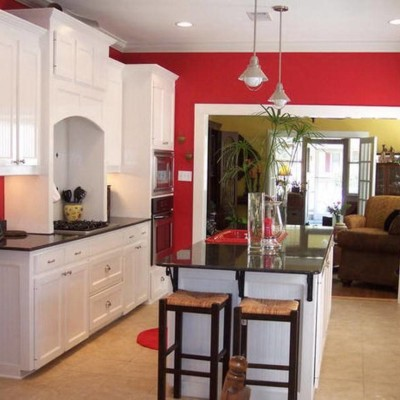 Red Kitchen Ideas Painting