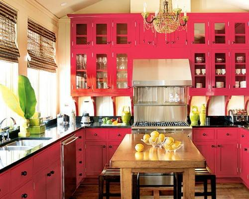 Pinterest Red Kitchen Ideas