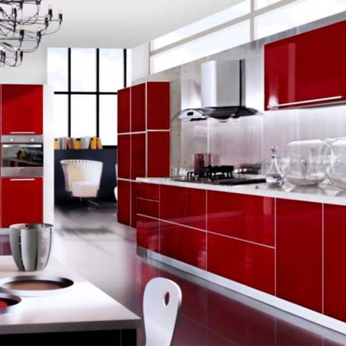 Barn Red Kitchen Ideas