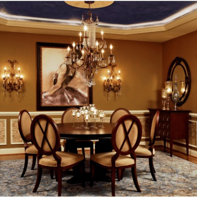 Traditional Dining Room Wall Decor