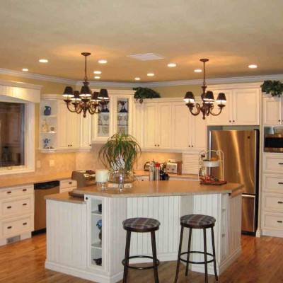 Popular White Kitchen Remodel Ideas
