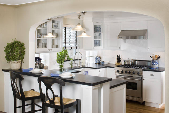 White Remodeled Kitchen