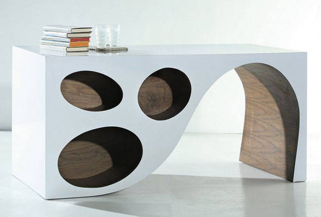 Modern White Office Desk