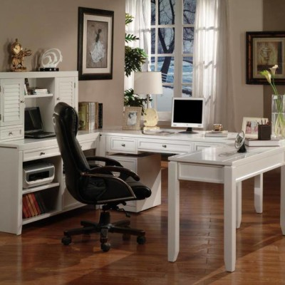 White Modular Office Furniture