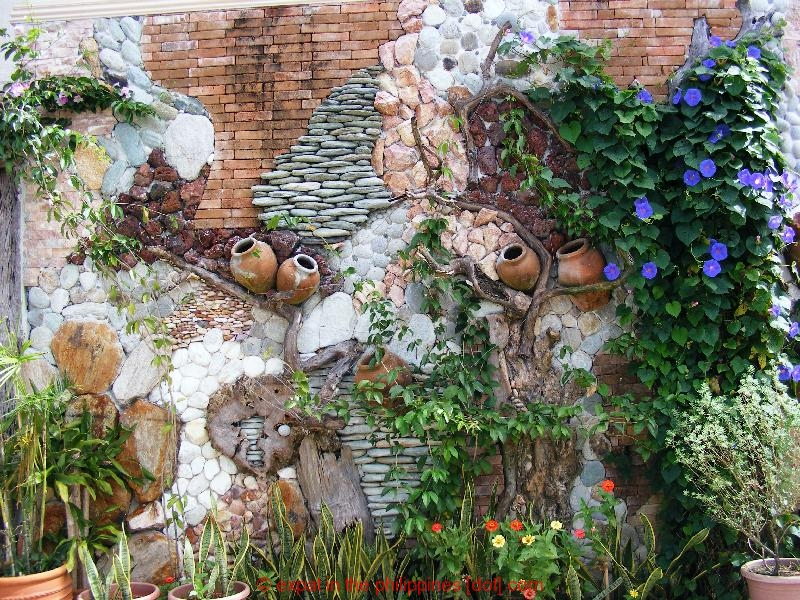 The unique type of garden wall decor actual home for Outdoor garden wall decor
