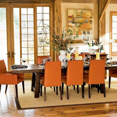 antique country dining room design